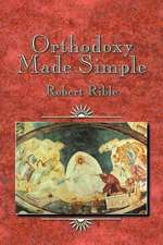 Orthodoxy Made Simple