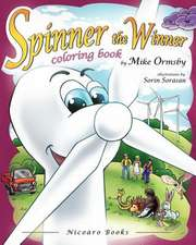 Spinner the Winner - Coloring Book