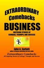 Extraordinary Comebacks Business