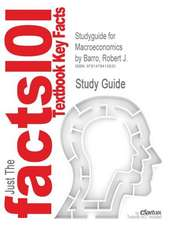Studyguide for Macroeconomics by Barro, Robert J., ISBN 9780262024365