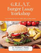 GREAT Burger Essay Workshop