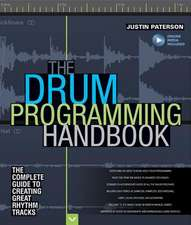 Paterson Justin Drum Programming Hadnbook Complete Guide Bam Bk/Aud