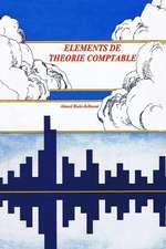 Elements de Theorie Comptable