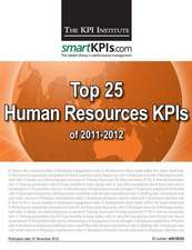 Top 25 Human Resources Kpis of 2011-2012