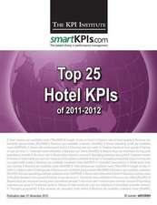 Top 25 Hotel Kpis of 2011-2012