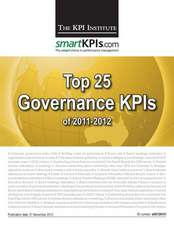 Top 25 Governance Kpis of 2011-2012