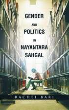 Gender and Politics in Nayantara Sahgal