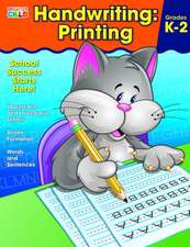 Handwriting:  Printing Workbook