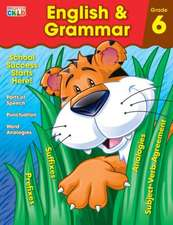 English & Grammar Workbook, Grade 6:  Cursive Workbook
