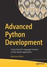 Advanced Python Development