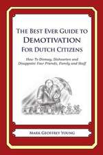 The Best Ever Guide to Demotivation for Dutch Citizens