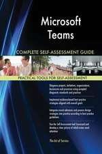 Microsoft Teams Complete Self-Assessment Guide