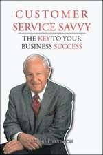 Customer Service Savvy