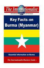 Key Facts on Burma (Myanmar)