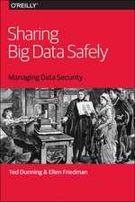 Sharing Big Data Safely
