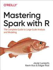 Mastering Spark with R