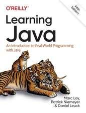 Learning Java, 5e