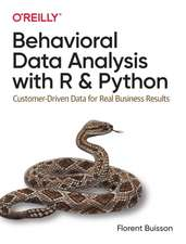 Behavioural Data Analysis with R and Python