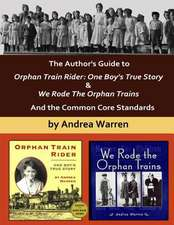 The Author's Guide to Orphan Train Rider