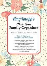 2018 Amy Knapp Christian Family Organizer