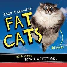 FAT CATS WALL CALENDAR 2020