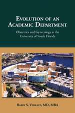 Evolution of an Academic Department
