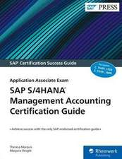 SAP S/4HANA Management Accounting Certification Guide
