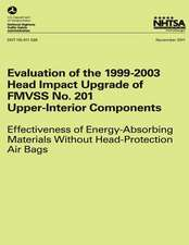Evaluation of the 1999-2003 Head Impact Upgrade of Fmvss No. 201 ? Upper-Interior Components
