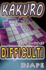 Difficult Kakuro