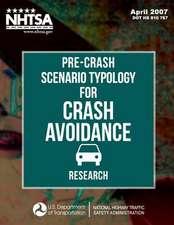 Pre-Crash Scenario Typology for Crash Avoidance Research