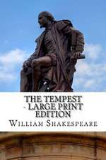 The Tempest - Large Print Edition