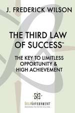 The Third Law of Success