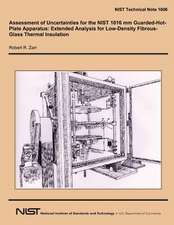 Assessment of Uncertainties for the Nist 1016 MM Guarded-Hot-Plate Apparatus