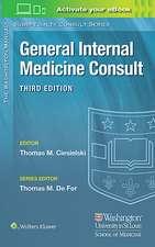 Washington Manual® General Internal Medicine Consult