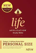 NIV Life Application Study Bible, Third Edition, Personal Size (Softcover)