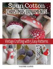 Spun Cotton Christmas Ornaments