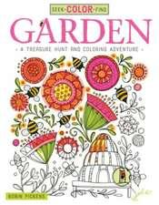 Seek, Color, Find Garden