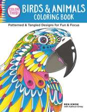 Color This! Birds & Animals Coloring Book