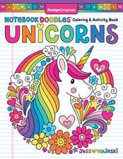 Notebook Doodles Unicorns