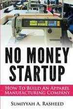 No Money Startup