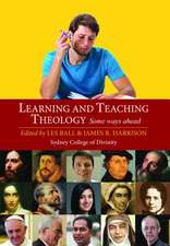 Learning and Teaching Theology