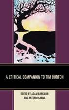Critical Companion to Tim Burton