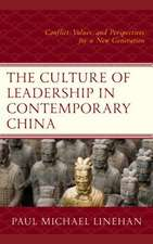 Culture of Leadership in Contemporary China