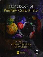 Handbook of Primary Care Ethics