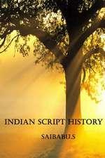 Indian Script History