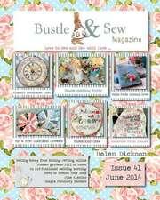 Bustle & Sew Magazine June 2014