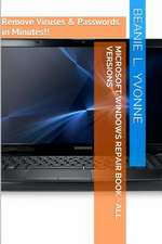 Microsoft Windows Repair Book - All Versions