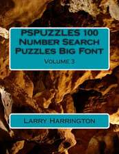Pspuzzles 100 Number Search Puzzles Big Font Volume 3