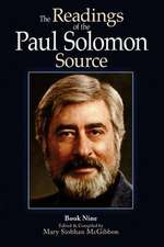 The Readings of the Paul Solomon Source Book 9