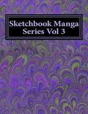 Sketchbook Manga Series Vol 3